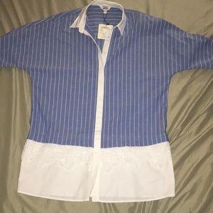 Tops - Long sleeve button down shirt